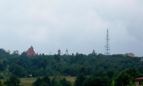 Kościół i wieża BTS